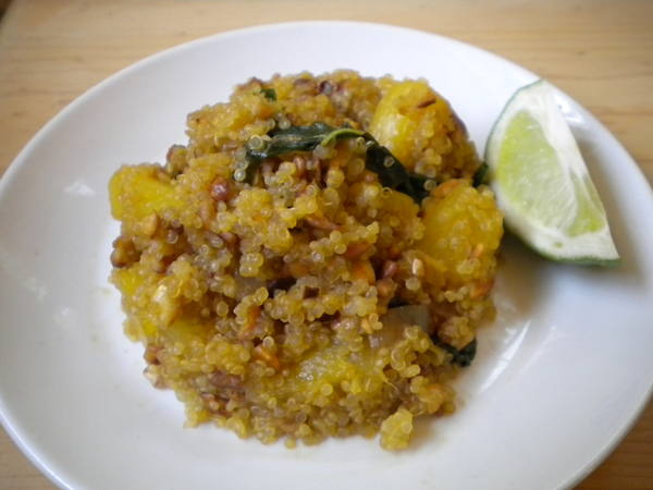 Photo: Pineapple Ginger Quinoa