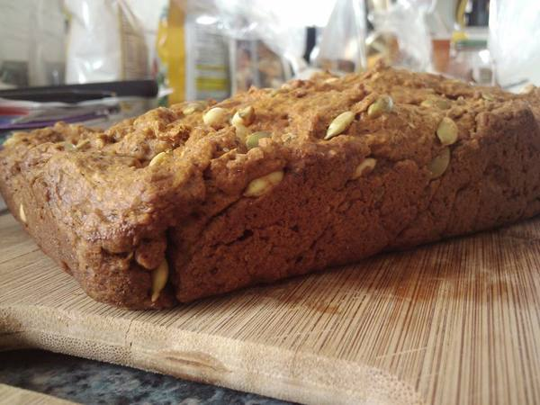Photo: Pumpkin Seed Bread