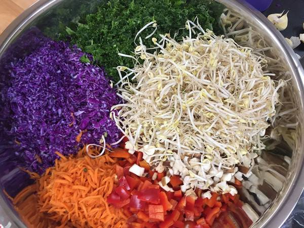 Photo: Rainbow Arame Salad