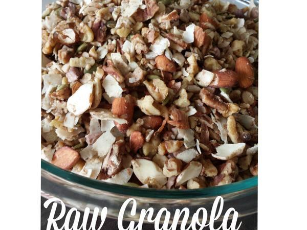 Photo: Raw Granola