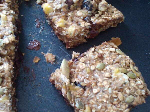 Photo: Roasted Seed Trail Mix Bars