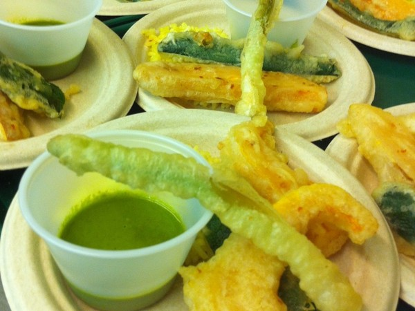 Photo: Summer Vegetable Tempura