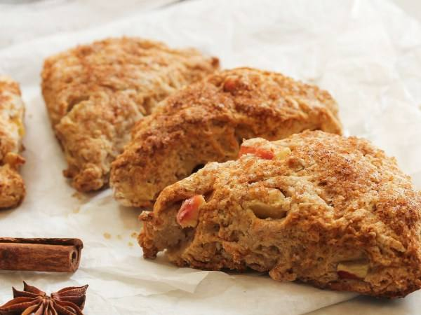 Photo: Spiced Apple Scones