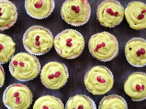 Photo: Strawberry Lime Cupcakes