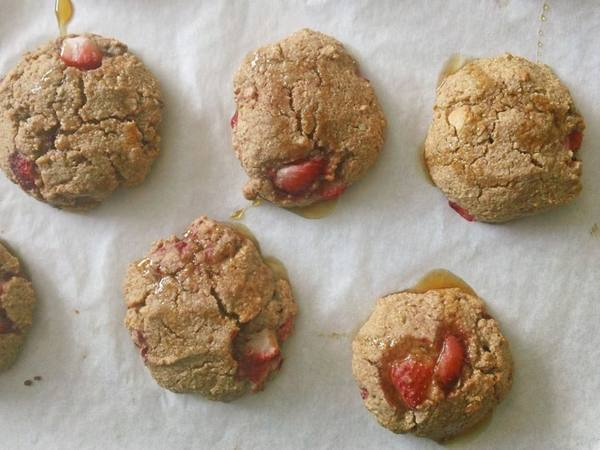 Photo: Strawberry & Macadamia Nut Scones