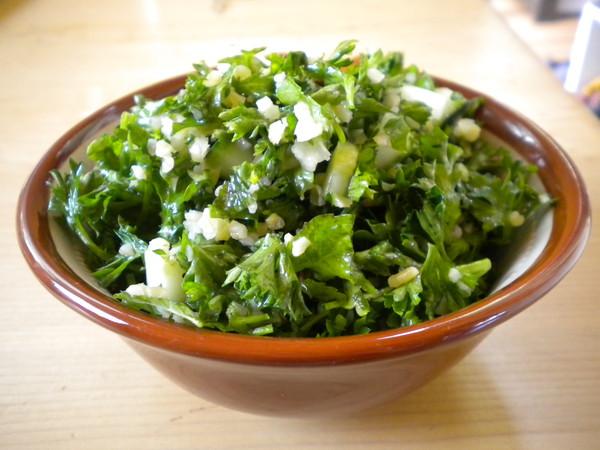 Photo: Bowl of Tabouli