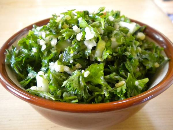 Photo: Bowl of Tabouli
