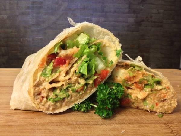 Photo: Vegan Breakfast Burrito
