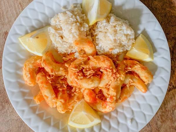 Photo: Vegan Garlic Shrimp