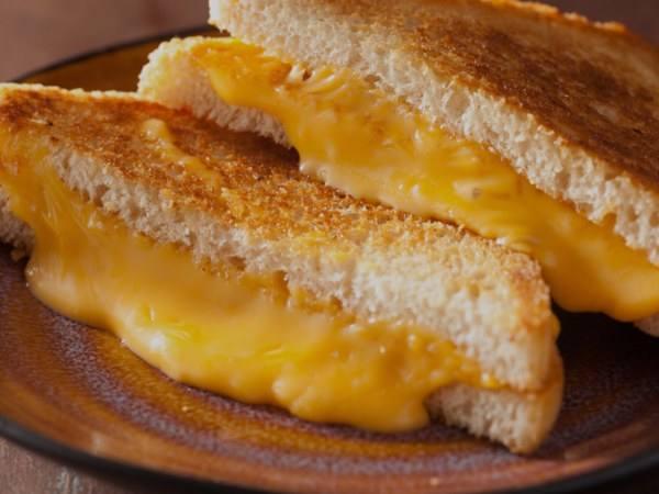 Photo: Vegan Grilled Cheese Sandwich