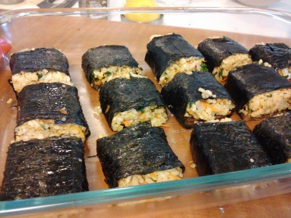 Photo: Veggie Musubi