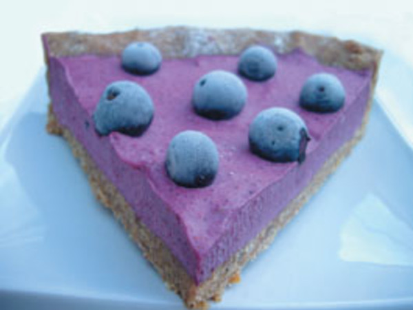 Photo: Raw Violet Pie