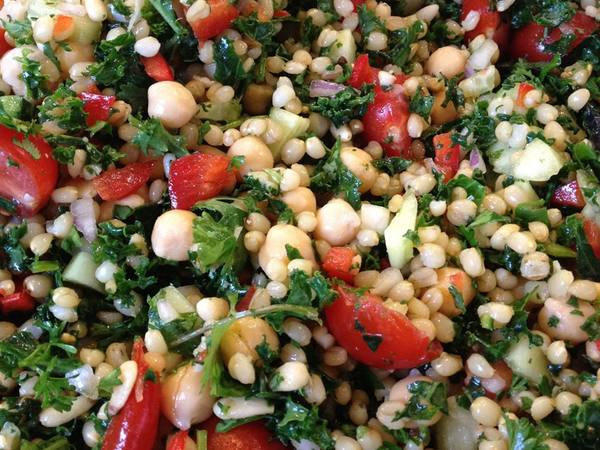 Photo: Wheat Berry and Kale Salad