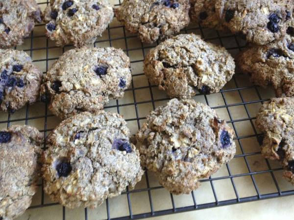 Photo: Whole Wheat Blueberry Scones