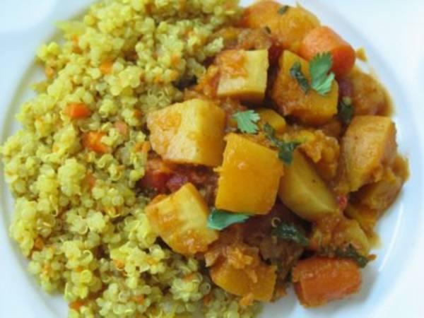 Photo: Winter Squash Stew with Quinoa