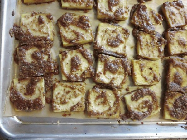 Photo: Almond Glazed Tofu