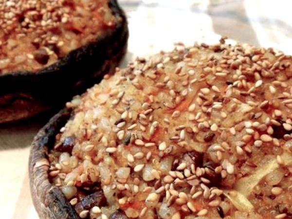 Photo: Stuffed Portobello Mushrooms