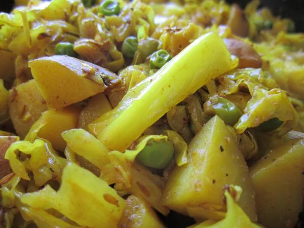 Photo: Punjabi-Style Cabbage