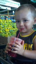 Photo: Boy with a Smoothie