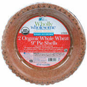 Wholly Wholesome Pie Shelll 9' 2-pk.