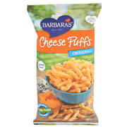 Barbera Cheese Puffs