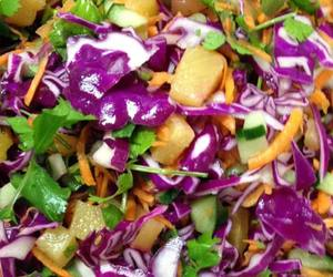 Photo: Sweet and Spicy Pineapple Salad