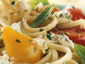 Photo: Fresh Pasta with Basil and Tomatoes