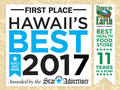 Down to Earth 2017 Best Health Food Store award