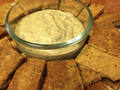 Photo: Herb Dip and Gluten-Free Crackers