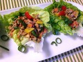Photo: Miso Ginger Lettuce Wraps