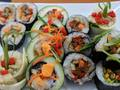 Photo: Vegetable Sushi Rolls