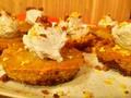PHoto: Vegan Pumpkin Cheesecake