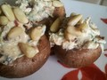 Photo: Raw Herb Stuffed Mushrooms