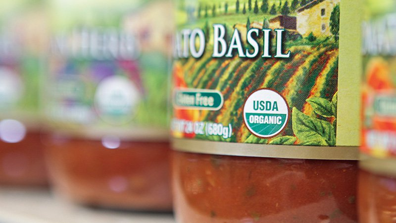 Photo: Product with USDA Organic Seal
