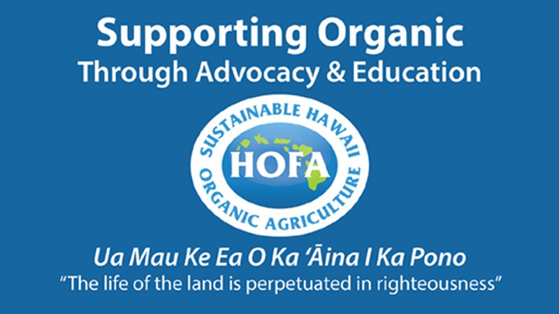 HOFA: Supporting Organic Through Advocacy and Education