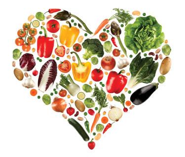 healthy heart diet flyer
