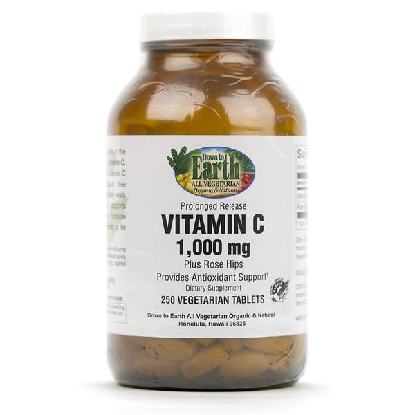 Photo: Bottle of Vitamin C Supplement