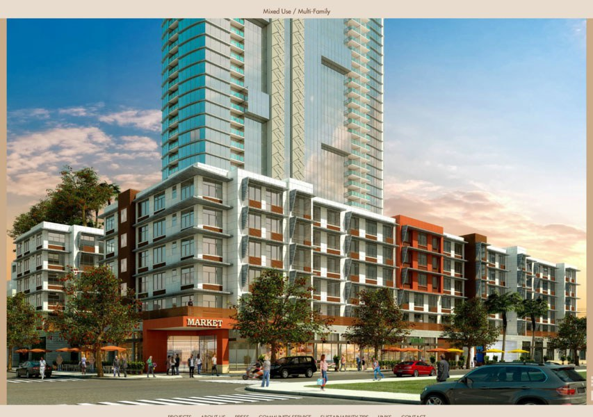Architect rendering of Down to Earth's proposed store in Kakaako
