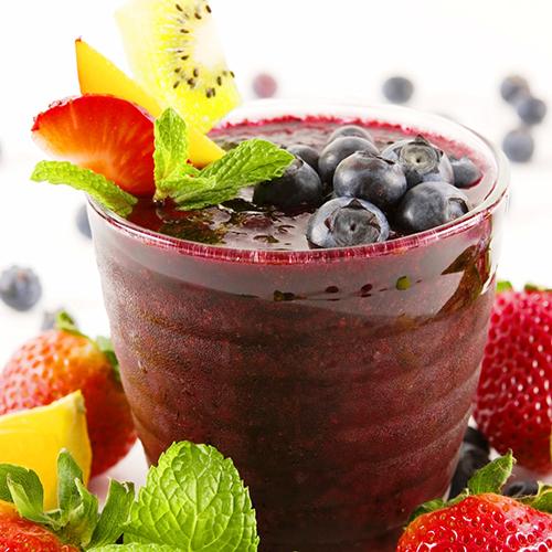 Photo: Smoothie with Fresh Fruit