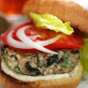Photo: Veggie Burger