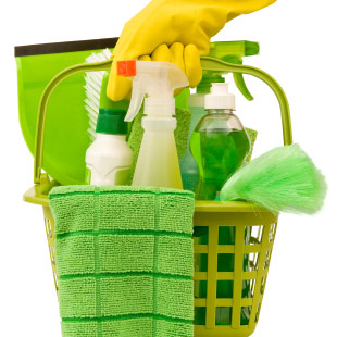 Photo: Green Cleaning Supplies
