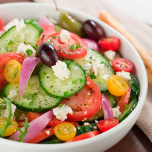 Photo: Fresh Greek Salad