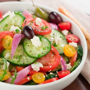 Photo: Fresh Greek Salad