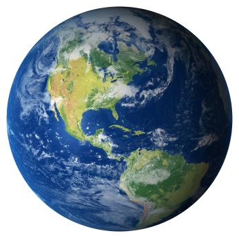 Photo: The Earth