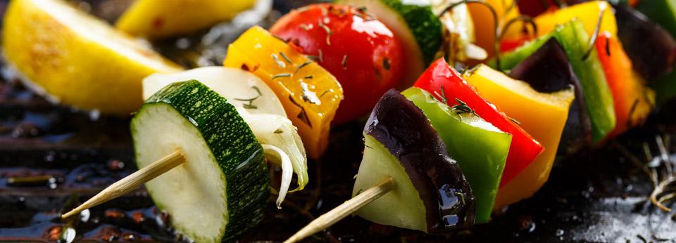 Photo: Veggie Kebabs