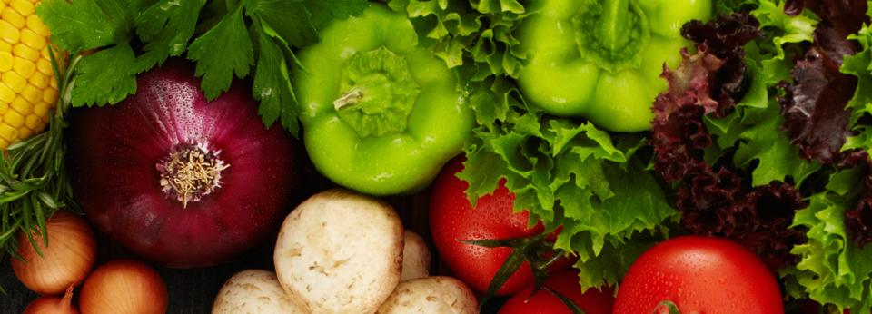 Photo: Fresh Vegetables and Mushrooms