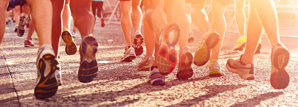 Photo: People running fitness and healthy active lifestyle